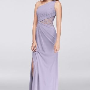 DAVID'S BRIDAL IRIS F19419 Bridesmaid Dress